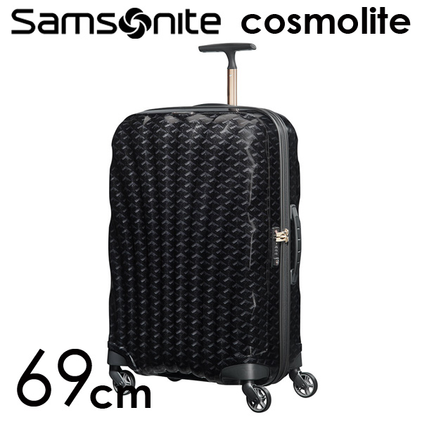 Samsonite スーツケース Cosmolite3.0 コスモライト3.0 69cm TD ブラックプリント 115313-2878