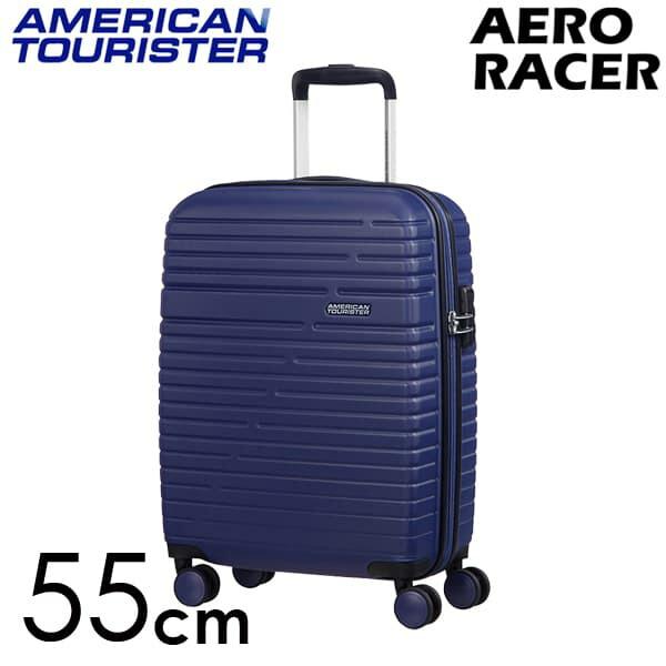Samsonite スーツケース American Tourister Aero Racer アメリカンツーリスター エアロレーサー 55cm ノクターンブルー 116988-2375