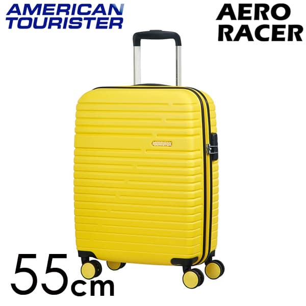 Samsonite スーツケース American Tourister Aero Racer アメリカンツーリスター エアロレーサー 55cm レモンイエロー 116988-B038