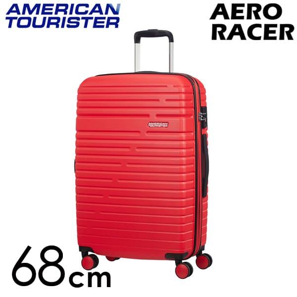Samsonite スーツケース American Tourister Aero Racer アメリカンツーリスター エアロレーサー EXP 68cm ポピーレッド 116989-1710