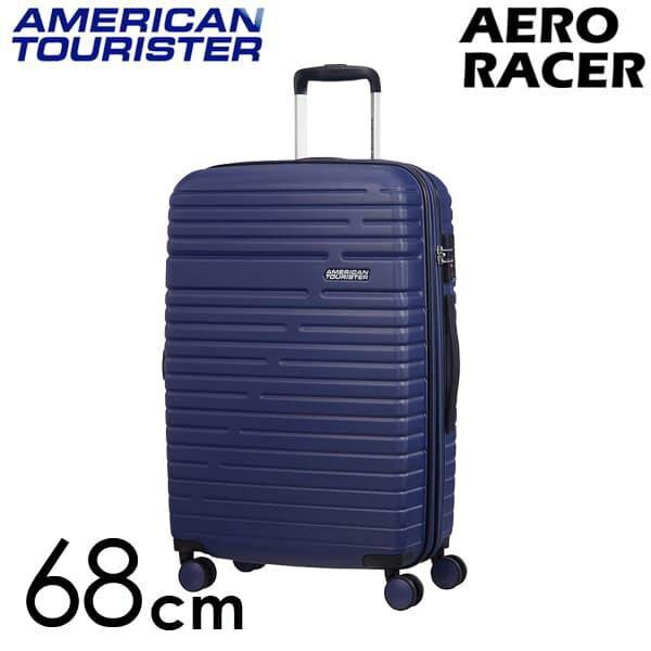 Samsonite スーツケース American Tourister Aero Racer アメリカンツーリスター エアロレーサー EXP 68cm ノクターンブルー 116989-2375