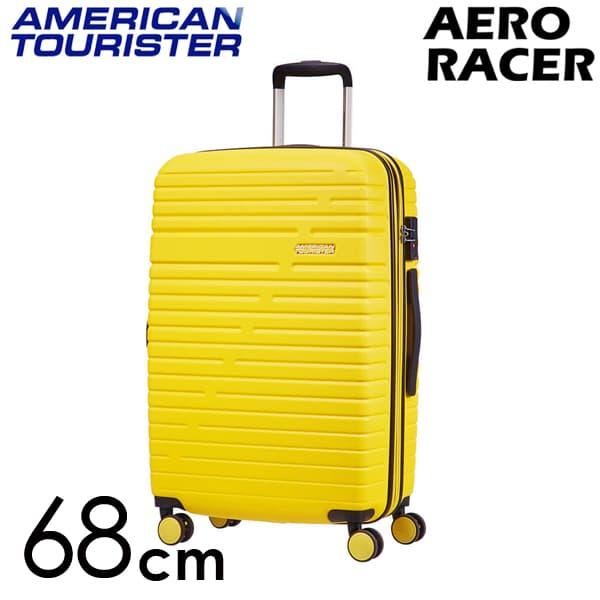 Samsonite スーツケース American Tourister Aero Racer アメリカンツーリスター エアロレーサー EXP 68cm レモンイエロー 116989-B038