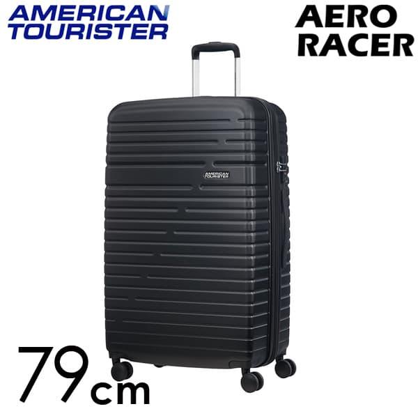 Samsonite スーツケース American Tourister Aero Racer アメリカンツーリスター エアロレーサー EXP 79cm ジェットブラック 116990-1465【他商品と同時購入不可】