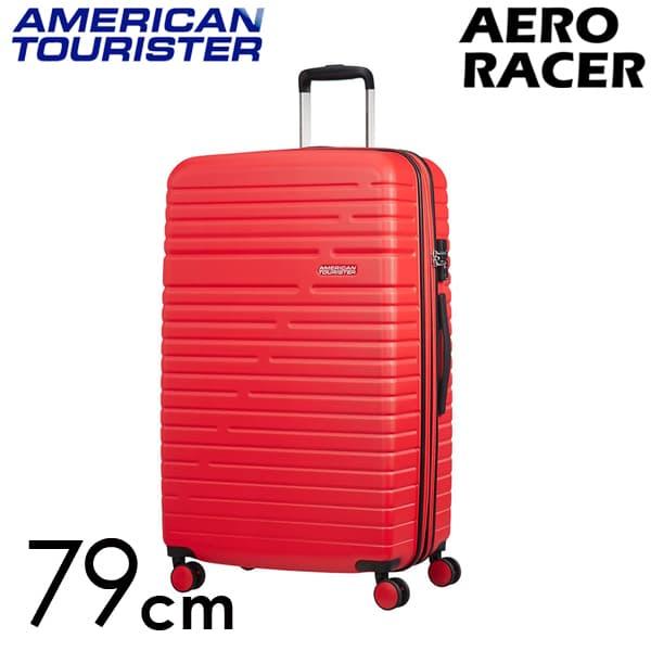 Samsonite スーツケース American Tourister Aero Racer アメリカンツーリスター エアロレーサー EXP 79cm ポピーレッド 116990-1710【他商品と同時購入不可】