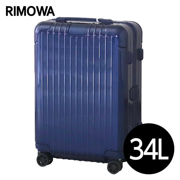 リモワ RIMOWA スーツケース エッセンシャル キャビンS 34L グロスブルー ESSENTIAL Cabin S 832.52.60.4