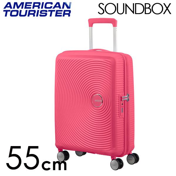 Samsonite スーツケース American Tourister Soundbox アメリカンツーリスター サウンドボックス EXP 55cm ホットピンク 88472-1426