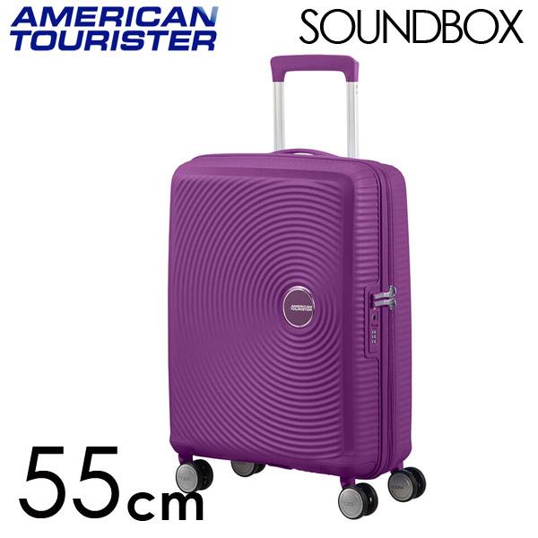 Samsonite スーツケース American Tourister Soundbox アメリカンツーリスター サウンドボックス EXP 55cm パープルオーキッド 88472-2011