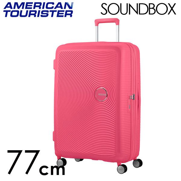 Samsonite スーツケース American Tourister Soundbox アメリカンツーリスター サウンドボックス EXP 77cm ホットピンク 88474-1426【他商品と同時購入不可】