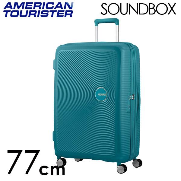 Samsonite スーツケース American Tourister Soundbox アメリカンツーリスター サウンドボックス EXP 77cm ジェイドグリーン 88474-1457【他商品と同時購入不可】