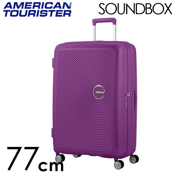 Samsonite スーツケース American Tourister Soundbox アメリカンツーリスター サウンドボックス EXP 77cm パープルオーキッド 88474-2011【他商品と同時購入不可】