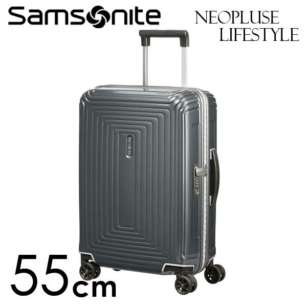 Samsonite スーツケース Neopulse LifeStyle ネオパルス ライフスタイル 55cm メタリックグレー 105677-1543