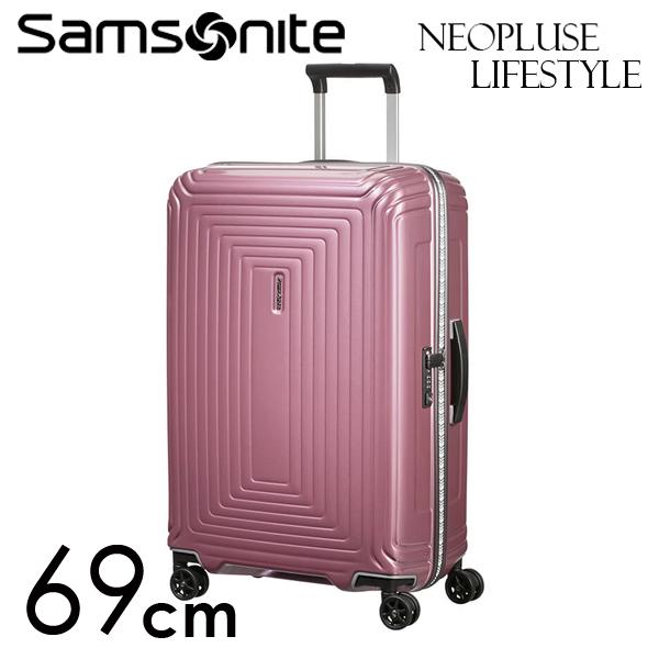 Samsonite スーツケース Neopulse LifeStyle ネオパルス ライフスタイル 69cm メタリックローズ 105679-2647