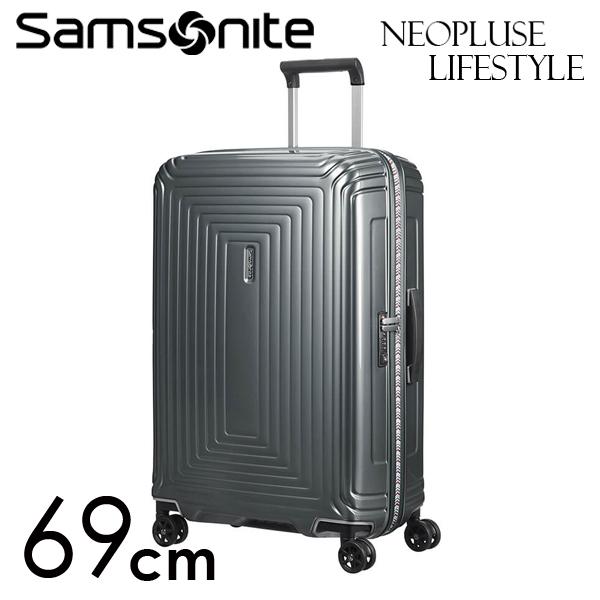 Samsonite スーツケース Neopulse LifeStyle ネオパルス ライフスタイル 69cm メタリックグレー 105679-1543