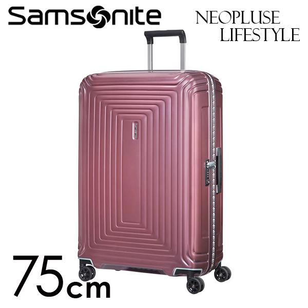 Samsonite スーツケース Neopulse LifeStyle ネオパルス ライフスタイル 75cm メタリックローズ 105680-2647【他商品と同時購入不可】