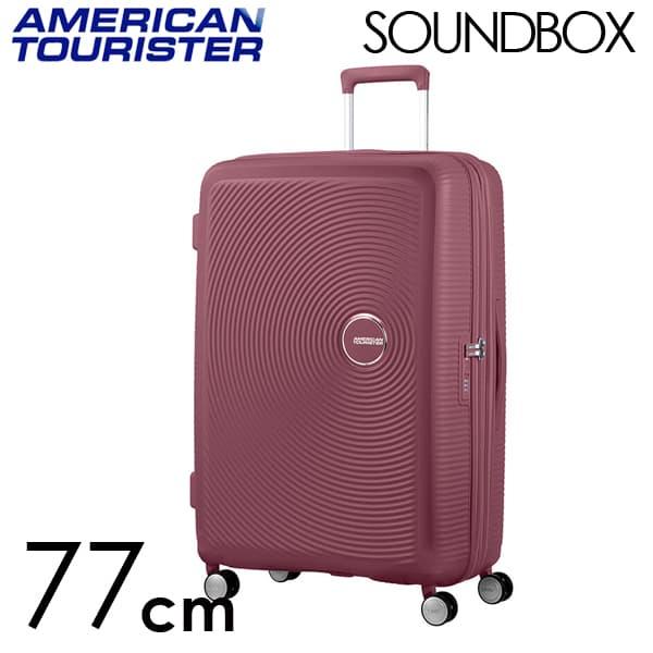 Samsonite スーツケース American Tourister Soundbox アメリカンツーリスター サウンドボックス 77CM ダークバーガンディ 88474-2569【他商品と同時購入不可】