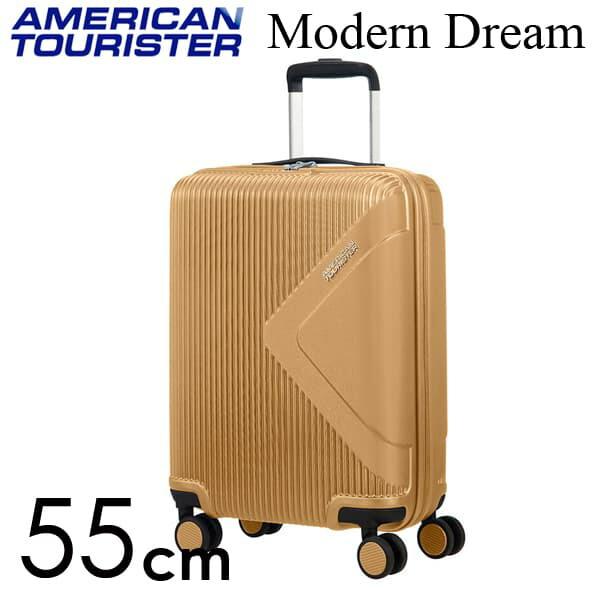 Samsonite スーツケース American Tourister Soundbox アメリカンツーリスター モダンドリーム 55CM ゴールド 110079-1366