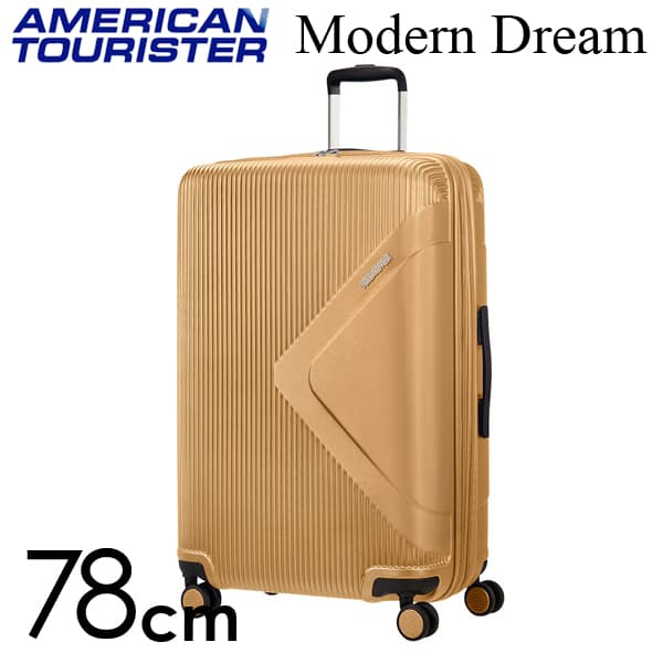Samsonite スーツケース American Tourister Soundbox アメリカンツーリスター モダンドリーム 78CM ゴールド 110082-1366【他商品と同時購入不可】