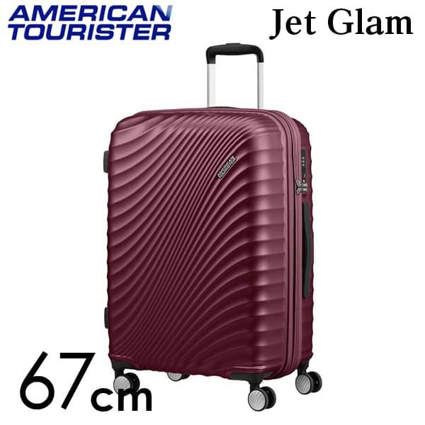Samsonite スーツケース American Tourister Soundbox アメリカンツーリスター ジェットグラム 67CM メタリックグレープパープル 122817-8329