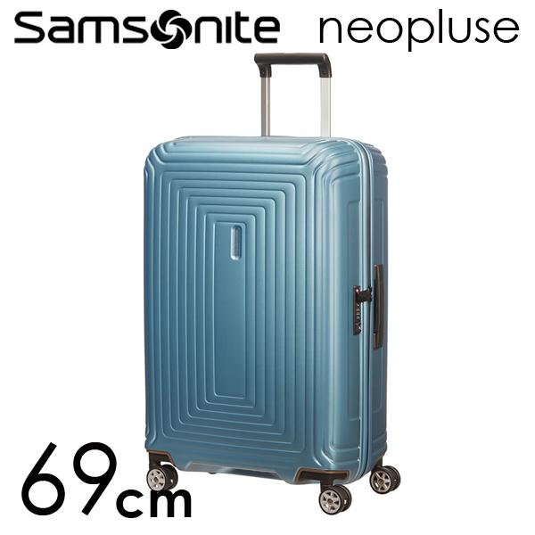 Samsonite スーツケース Neopulse ネオパルス スピナー 69cm マットアイスブルー 65753-5344