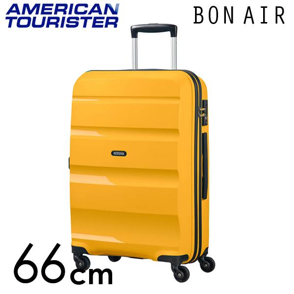 Samsonite スーツケース American Tourister Bon Air アメリカンツーリスター ボンエアー 66cm ライトイエロー 59423-2347