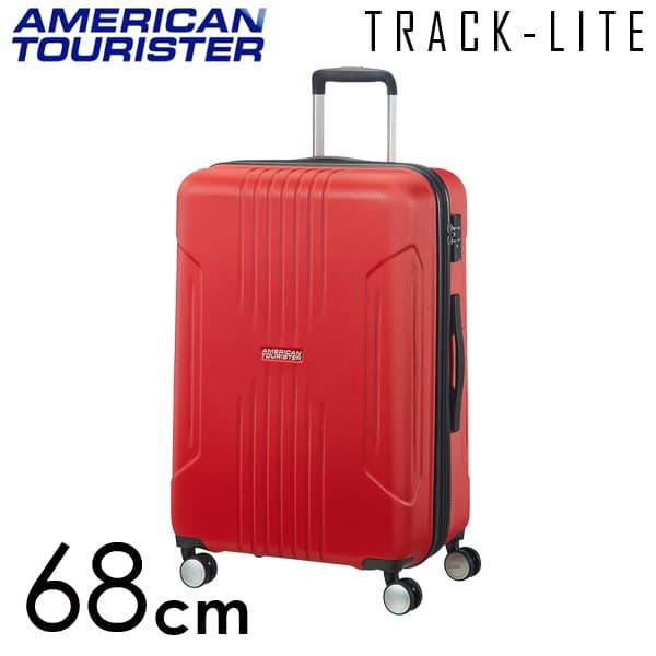 Samsonite スーツケース American Tourister TRACKLITE アメリカンツーリスター トラックライト EXP 68cm フレームレッド 88745-0501