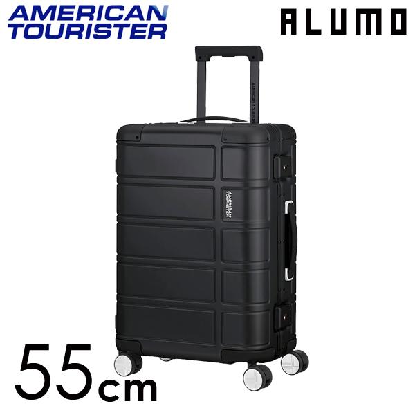 Samsonite スーツケース American Tourister ALUMO アメリカンツーリスター アルモ EXP 55cm ブラック 122763-1041