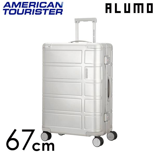 Samsonite スーツケース American Tourister ALUMO アメリカンツーリスター アルモ EXP 67cm シルバー 122764-1776