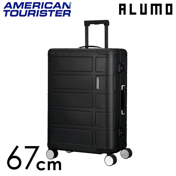 Samsonite スーツケース American Tourister ALUMO アメリカンツーリスター アルモ EXP 67cm ブラック 122764-1041
