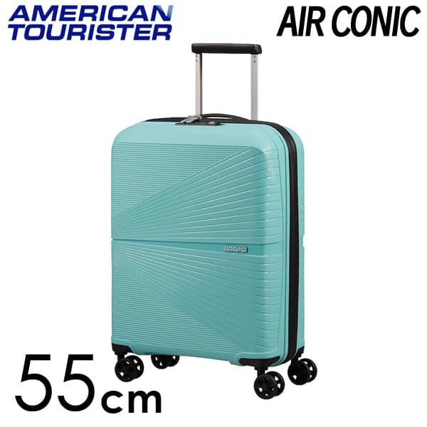 Samsonite スーツケース American Tourister AIRCONIC アメリカンツーリスター エアーコニック EXP 55cm ピューリストブルー 128186-8397