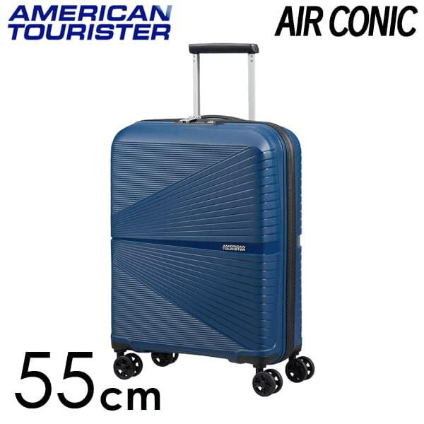 Samsonite スーツケース American Tourister AIRCONIC アメリカンツーリスター エアーコニック EXP 55cm ミッドナイトネイビー 128186-1552