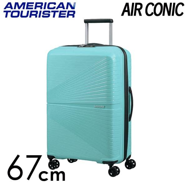 Samsonite スーツケース American Tourister AIRCONIC アメリカンツーリスター エアーコニック EXP 67cm ピューリストブルー 128187-8397