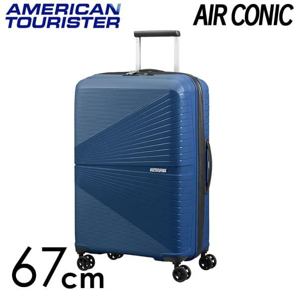 Samsonite スーツケース American Tourister AIRCONIC アメリカンツーリスター エアーコニック EXP 67cm ミッドナイトネイビー 128187-1552