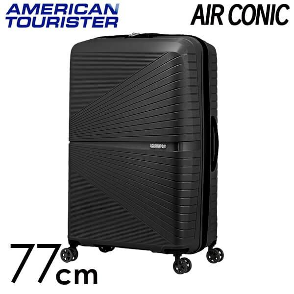 Samsonite スーツケース American Tourister AIRCONIC アメリカンツーリスター エアーコニック EXP 77cm オニックスブラック 128188-0581【他商品と同時購入不可】
