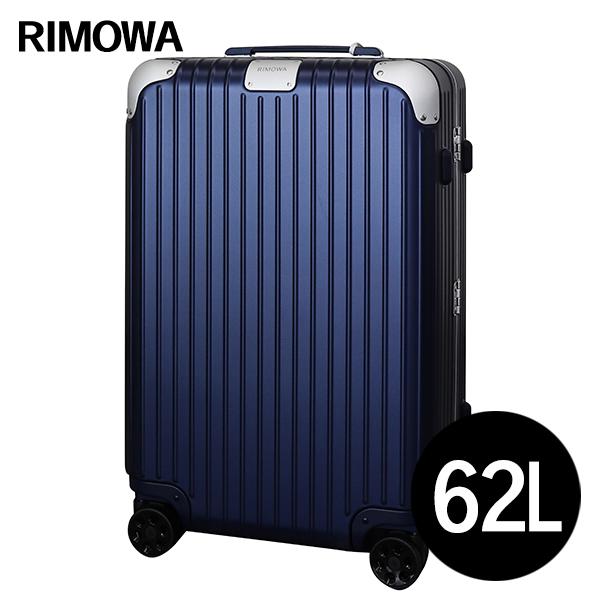 リモワ RIMOWA スーツケース ハイブリッド チェックインM 62L マットブルー HYBRID Check-In M 883.63.61.4