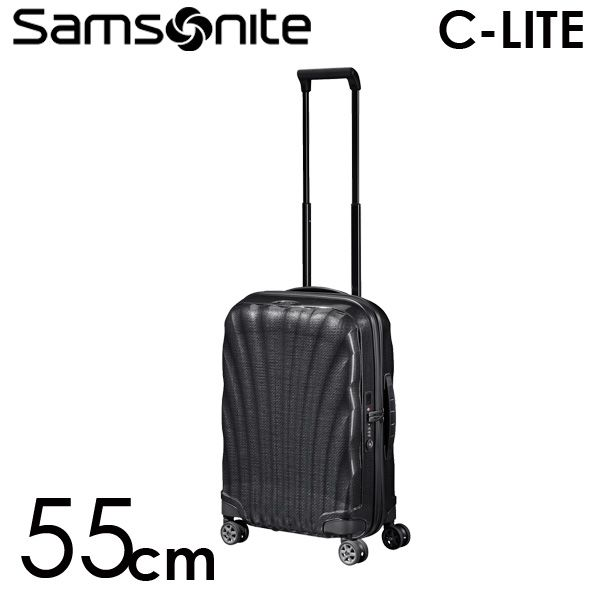 Samsonite スーツケース C-LITE Spinner シーライト スピナー 55cm ブラック 122859-1041