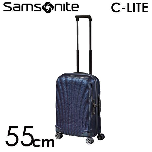 Samsonite スーツケース C-LITE Spinner シーライト スピナー 55cm ミッドナイトブルー 122859-1549