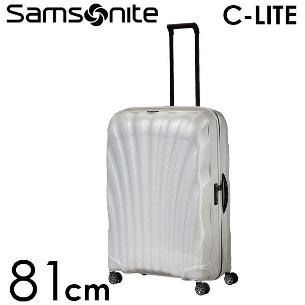 Samsonite スーツケース C-LITE Spinner シーライト スピナー 81cm オフホワイト 122862-1627【他商品と同時購入不可】