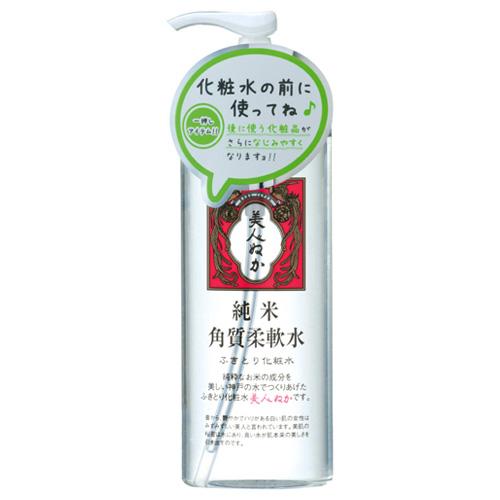 リアル 美人ぬか 純米角質柔軟水 ふきとり化粧水 198ml
