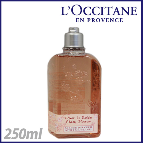 loccitane チェリーブロッサム シャワージェル 250ml 24GD250CB4