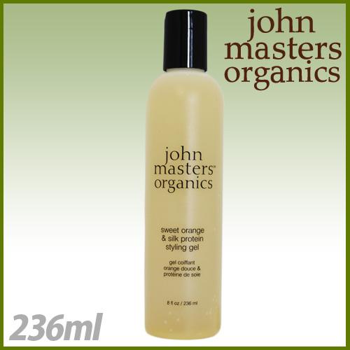 ジョンマスターオーガニック スイートオレンジ&シルクプロテイン スタイリングジェル 236ml / John Masters Organics