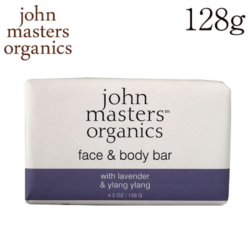 ジョンマスターオーガニック ラベンダーローズゼラニウム&イランイラン ソープ 128g / John Masters Organics