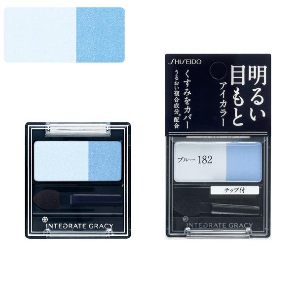 資生堂 インテグレート グレイシィ アイカラー ブルー182 2g