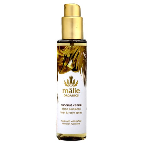 Malie Organics マリエ オーガニクス リネン&ルームスプレー ココナッツバニラ 148ml