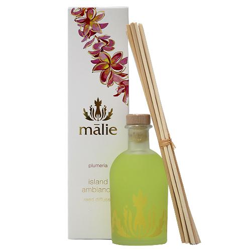 Malie Organics マリエ オーガニクス リードディフューザー プルメリア 240ml