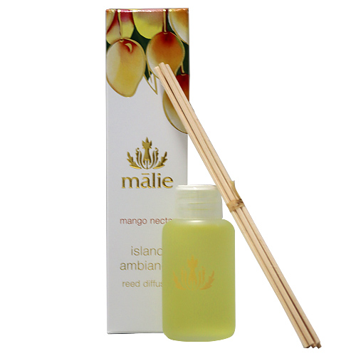 Malie Organics マリエ オーガニクス リードディフューザー マンゴーネクター 59ml