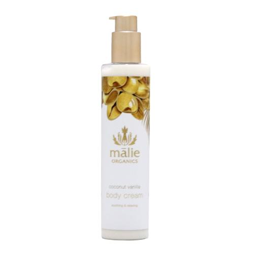 Malie Organics マリエ オーガニクス ボディクリーム ココナッツバニラ 222ml