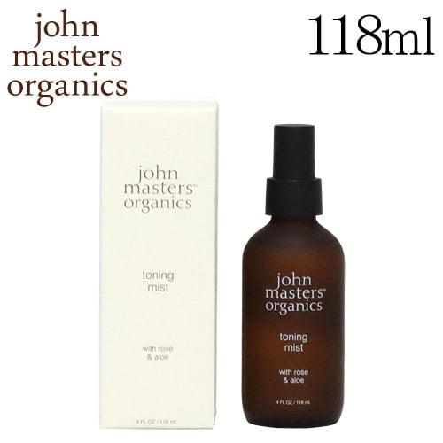 ジョンマスター ローズ&アロエ トーニングミスト 118ml / John Masters Organics