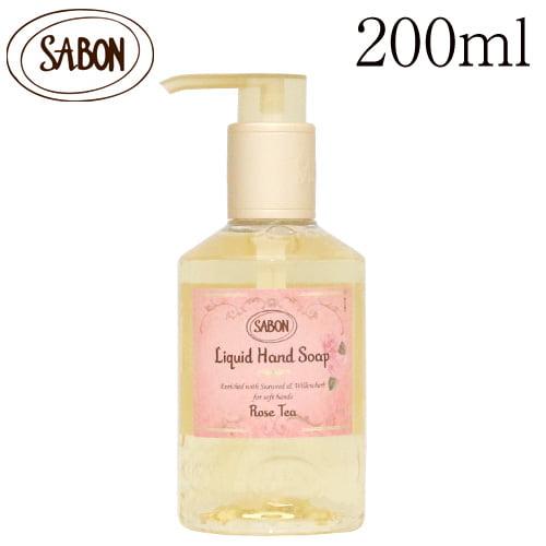 サボン ハンドソープ ローズティー 200ml / SABON