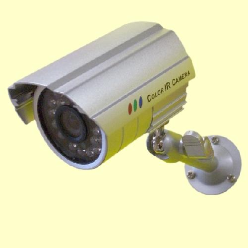 オーム電機 赤外線防犯カメラ カラーカメラ シルバー SC-70IR