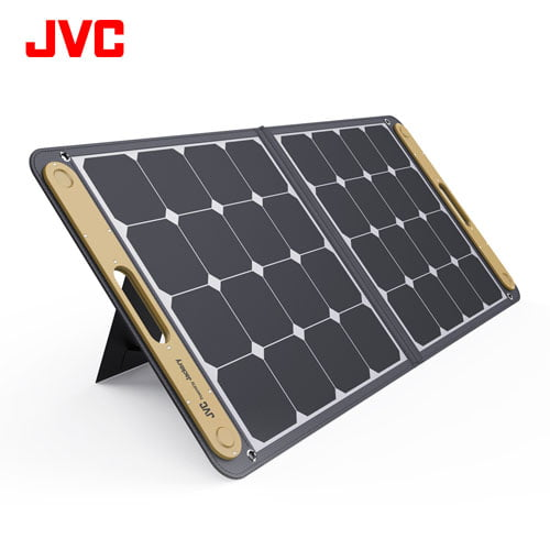 JVC Jackery ポータブルソーラーパネル BH-SP100C